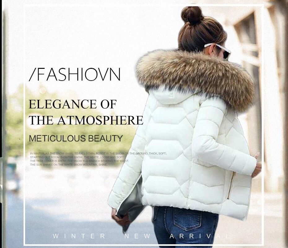 ₩Veste d'hiver Femmes 2019 Mode Nouvelle hiver à capuchon