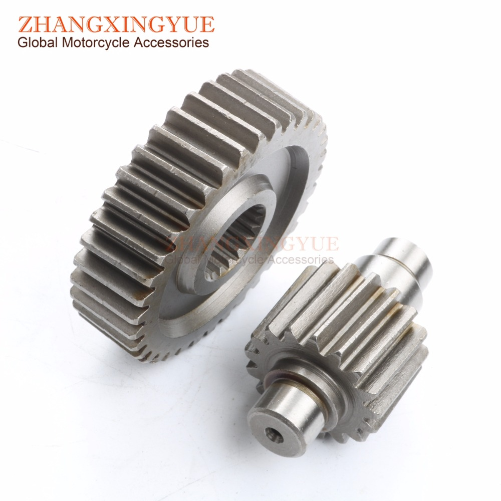 36T-17T Performance Final Drive Gear for GY6 125 150cc 152QMI 157QMJ Chinese Scooters Engine Spare parts high quality crankshaft gy6 125 150cc scooter engine crankshaft 152qmi 157qmj spare parts ycm drop shipping