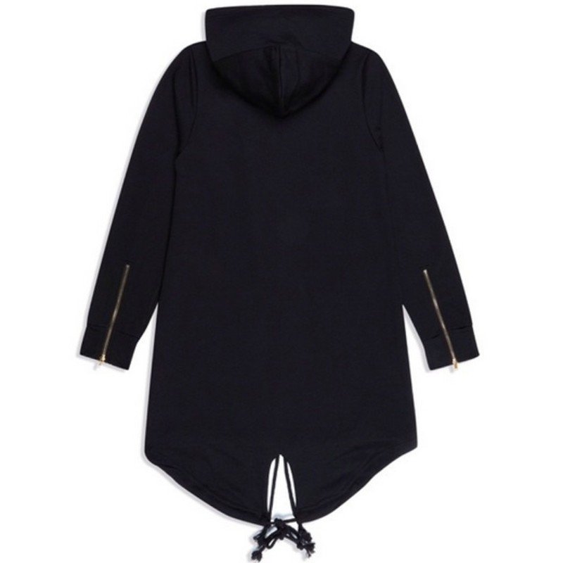 bigbang clothes hip hop mens jackets and coats couple outfits black/white extended long hoodie mens hooded cloak