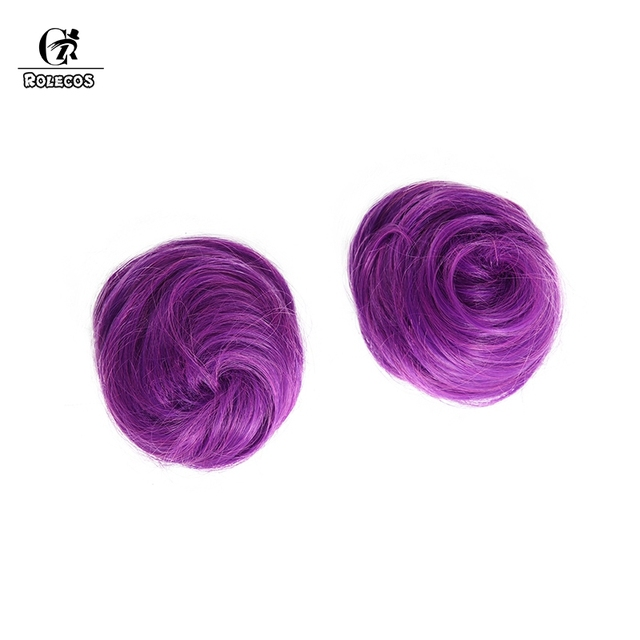 ROLECOS LOL K/DA Cosplay Hair Kaisa Cosplay Headwear Game LOL KDA 80CM Long Purple Heat Resistant Synthetic Hair Perucas 4