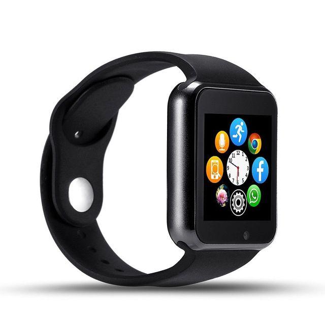 Nuevo reloj del bluetooth de smart watch deporte podómetro sim cámara android smartphone