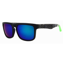 Men's Hip Hop Style Sunglasses with Colorful Lenses