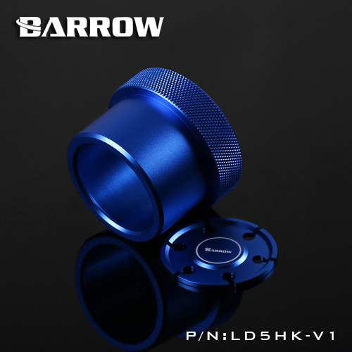 Купить с кэшбэком Barrow D5 / MCP655 Series Pumps Dedicated Conversion Kit D5 Modified Metal Cover for Cool Water Cooling System 5 Colors LD5HK-V1