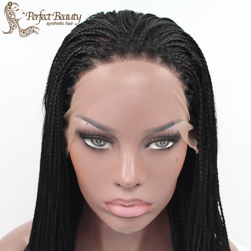 Awe Inspiring Aliexpress Com Buy Micro Box Braids Wig Heat Resistant Long Hairstyle Inspiration Daily Dogsangcom