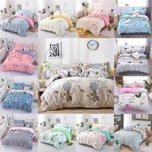 4 個布団カバーセットファッションファミリー寝具セット高級フラットシート寝具ライニング枕カバーセット、no filler 2019 ベッドセット