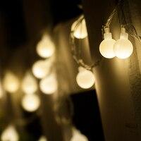 10 متر الصمام سلسلة الأنوار مع 100 المصابيح الكرة ac220v عطلة ديكور مصابيح ضوء عطلة عيد عرس حزب الديكور