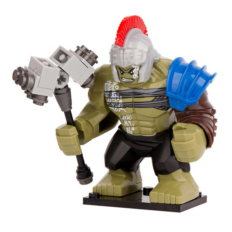 NEW hot Thor Ragnarok thor3 Hulk Building Blocks Bricks Compatible action figure toys Christmas gift toy new hot christmas gift 21inch 52cm bearbrick be rbrick fashion toy pvc action figure collectible model toy decoration