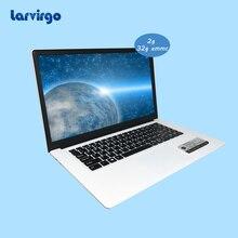 High capacity battery windows 10 system 15.6 inch slim White laptop 2G ram 32GB EMMC 320GB HDD built in bluetooth camera pc