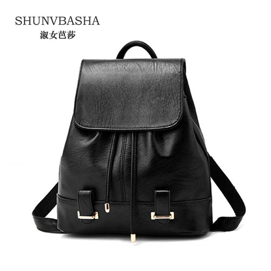 Women Unique Backapack Female Fashion Rucksack Pu Leather Knapsack For Ladies Mochila School Bags For Teenage