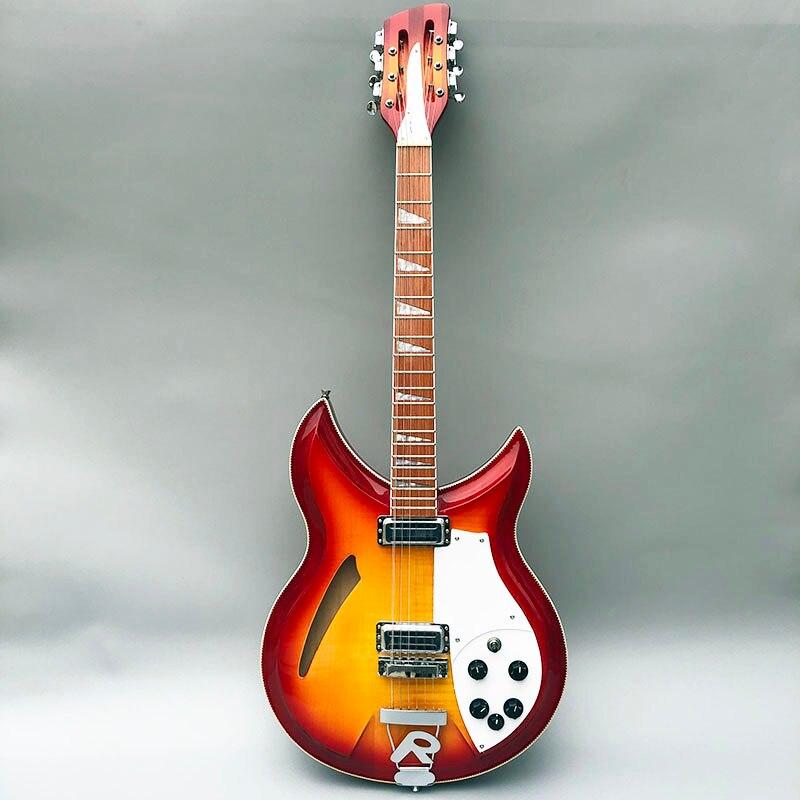 2019 Galiléia R381 guitarra elétrica de alta qualidade, tamanho padrão, fingerboard tem tinta brilhante, acessórios de Prata. fotos reais!