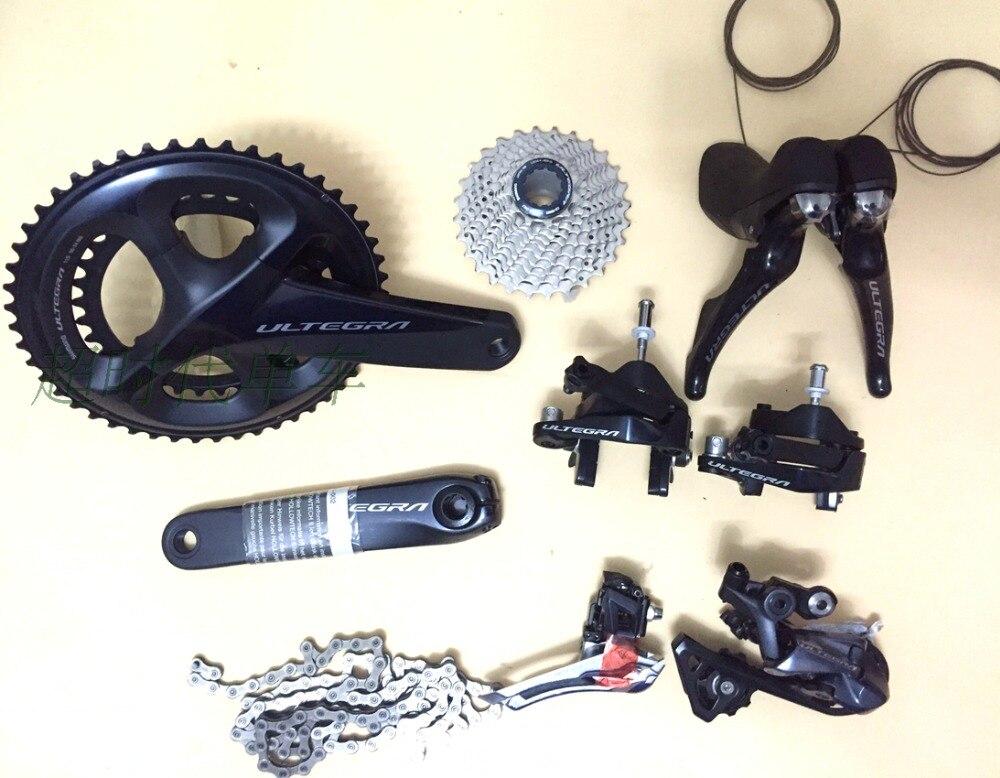 Nouveau groupe shimano ULTEGRA R8000 2*11 s 22 s groupes de vélo de route vélo de route 6800