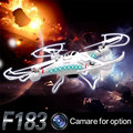 DFD F183 RC Quadcopter VS Syma X5C RC Quadcopter 2.4G 4CH 6 Axis Remote Control Quadcopter RC Helicopter With 2MP Camera RTF