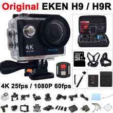 Action camera Original EKEN H9 / H9R remote Ultra FHD 4K WiFi 1080P 60fps 2.0 LCD 170D sport go waterproof pro camera deportiva