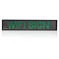 P5 WIFI SMD Remote Control Time countdown display Led open Sign Android Phone Programmable Scrolling Message LED Display Board