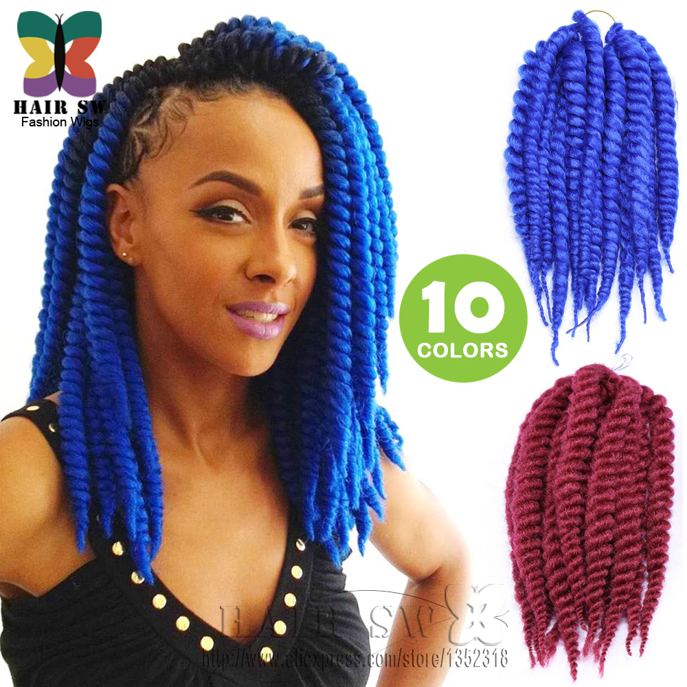 Braid hair extension havana mambo twist kanekalon synthetic braid hair extension havana mambo twist kanekalon synthetic crochet braid hair afro twist 14 for african american woman on aliexpress alibaba group pmusecretfo Images