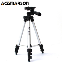 Actimarson Adjustable Portable Tripods Projector Digital Camera Tripod Phone Holder Stand With 4 Section Aluminum Legs