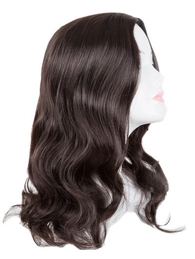 Romantic Black Wig Fei-show Synthetic Heat Resistant Carnival Halloween Costume Cos-play 26 Inches Long Curly Hair Female Party Hairpiece Synthetic None-lacewigs