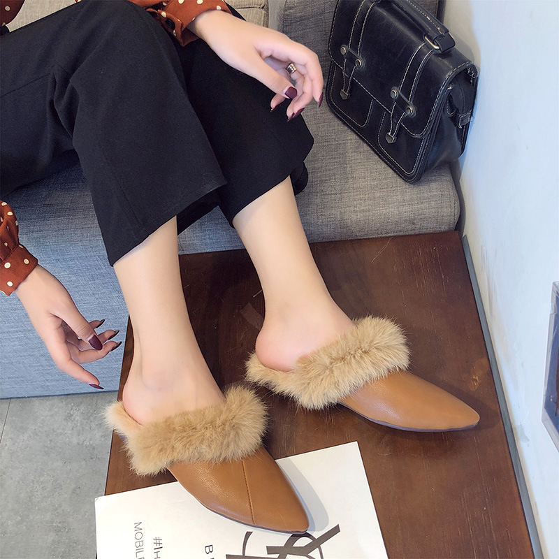 Brand Woman Shoes Warm Outside Women Slippers Slides Ladies Flat Shoes Slip On Casual Shoes Mules Shoes Fur Slippers Flip Flops phyanic fashion women s slide on slip on mule star bee embroidery loafer flats shoes slides slippers new woman mules outside
