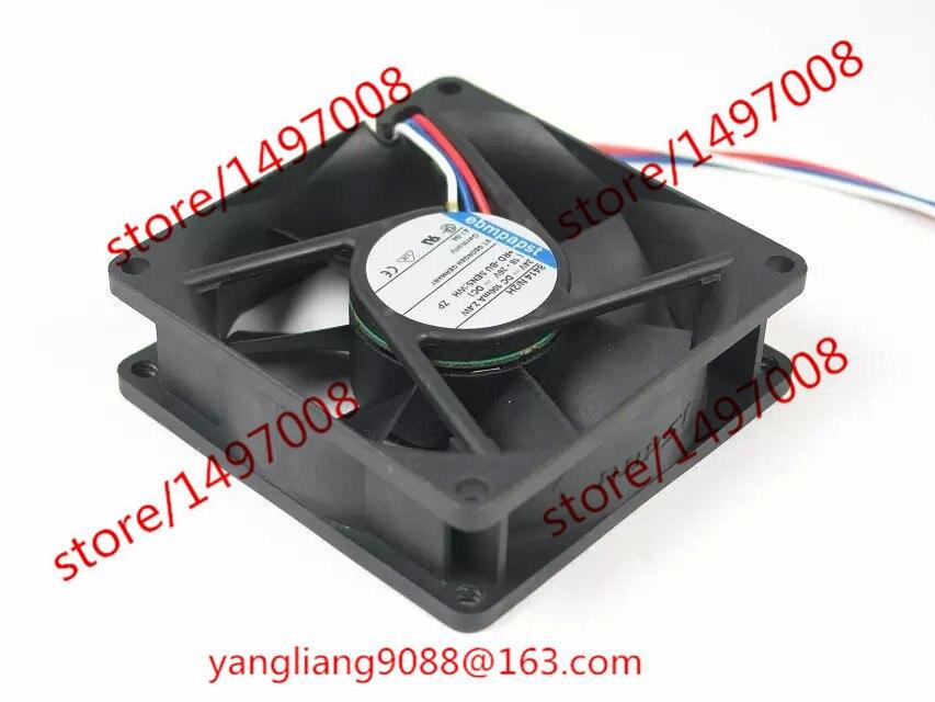 Подробнее о Free Shipping For ebmpapst TYP 8414 N/2H  DC 24V 2.4W 3-wire 3-pin connector 80mm 80x80x25mm Server Square Cooling Fan oasis discovery 8414 06 оранжевый