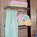 Seis Capas Espesar Blanco Lavado de Clase Una Gasa Del Color Del Caramelo color puro bebé del niño lactante doblado cloth bath towel 70*140 cm
