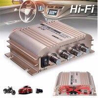 KROAK Car Amplifier 500W HiFi Audio Stereo Amplifier AMP Bass Speaker Booster Car Motorcycle Home MP3
