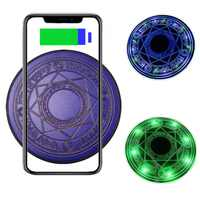Tongdaytech 10W Qi Drahtlose Ladegerät Für Iphone 8 Plus X XS 11 Pro Max Schnelle Drahtlose Aufladen Pad Für samsung S10 S9 S8 Cargador