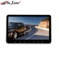 WHEXUNE Автомобильный подголовник монитор 10,2 дюймов ультра тонкий задний подвесной, автомобильная развлекательная система, USB, HDMI аудио/видео,