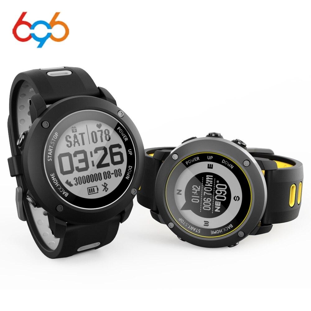 696 UW90 Bluetooth Smart Watch Sport Wristwatch 1.2 Inch GPS Heart Rate Monitor Pedometer IP68 Professional Waterproof Outdoor696 UW90 Bluetooth Smart Watch Sport Wristwatch 1.2 Inch GPS Heart Rate Monitor Pedometer IP68 Professional Waterproof Outdoor