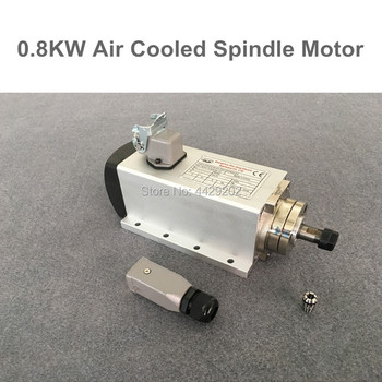 High Quality 800W  Spindle Motor Air Cooled Spindle Motor ER11 cnc Spindle Motor