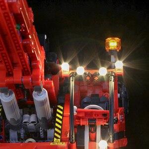 Image 3 - Светодиодная лампа для LEGO Mechanical Group 42082, кран с комплексным рельефом для lego Technic серии, мальчик, девочка, строительные блоки, игрушка (только свет)