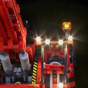 Image 3 - Led ライトのための機械式グループ 42082 のための複雑な地形クレーンテクニックシリーズ少年少女ビルディングブロックおもちゃ (光のみ)