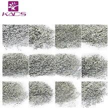 KADS 1000Pcs/set Silver 12 Designs Rivet For Nails Tips Glitter Manicure Tools DIY 3D Nail Art Decorations Nail Rhinestones