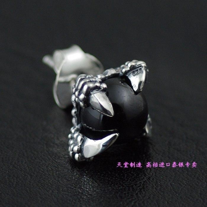 925 boucles d'oreilles en argent sterling Alondra etoiles pierre Thai argent 1 paire