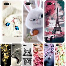 Phone Case For Huawei Honor 10 9 8 7 Lite Soft Silicone TPU Cute Cat Painted Back Cover For Huawei Honor 7A 7C 7S 7X 8 Pro Case hj125 7 7a 7c 8 f 428