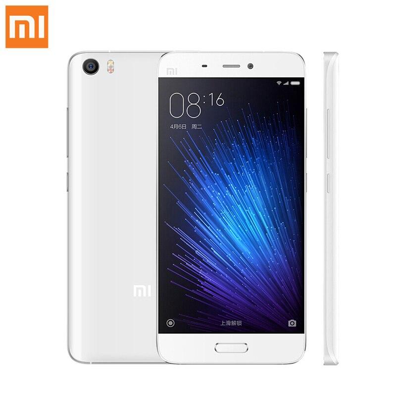 "Original Xiaomi Mi5 Mi 5 Pro 64G Mobile Phone Xiomi Smartphone 5.15"" Snapdragon 820 MIUI 8.1 NFC Fingerprint ID"