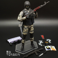 Great Quality Figma 6 Inch METAL GEAR SOLID SONS OF LIBERTY Snake CS Guard Soldier Movable Doll Model Toy Action Figure