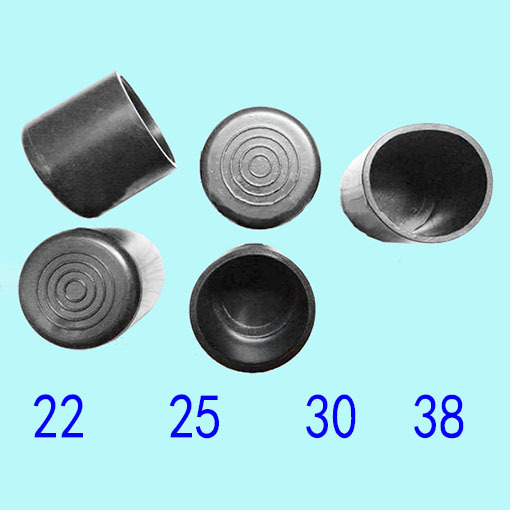 12mm Dishes And Bowls Shelf Furniture Iron Steel Wire Round Cover Cap Protector Tip Ending Leg Feet Pads Steel Arts And Crafts Furniture