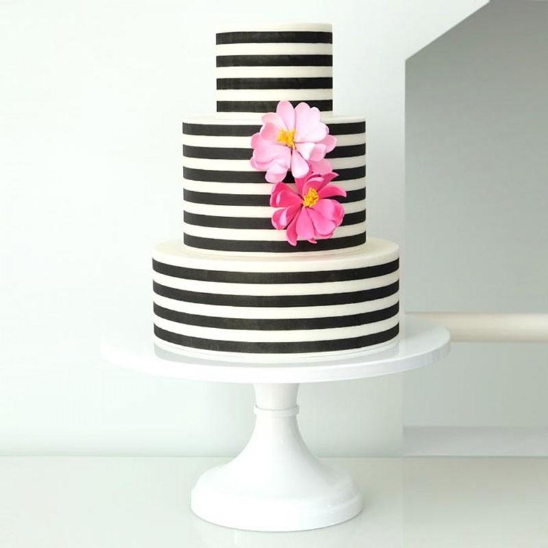 Yueyue Sugarcraft Stripe dort šablony šablony dort zdobení nástroje dortu forma svatební dort výzdobě