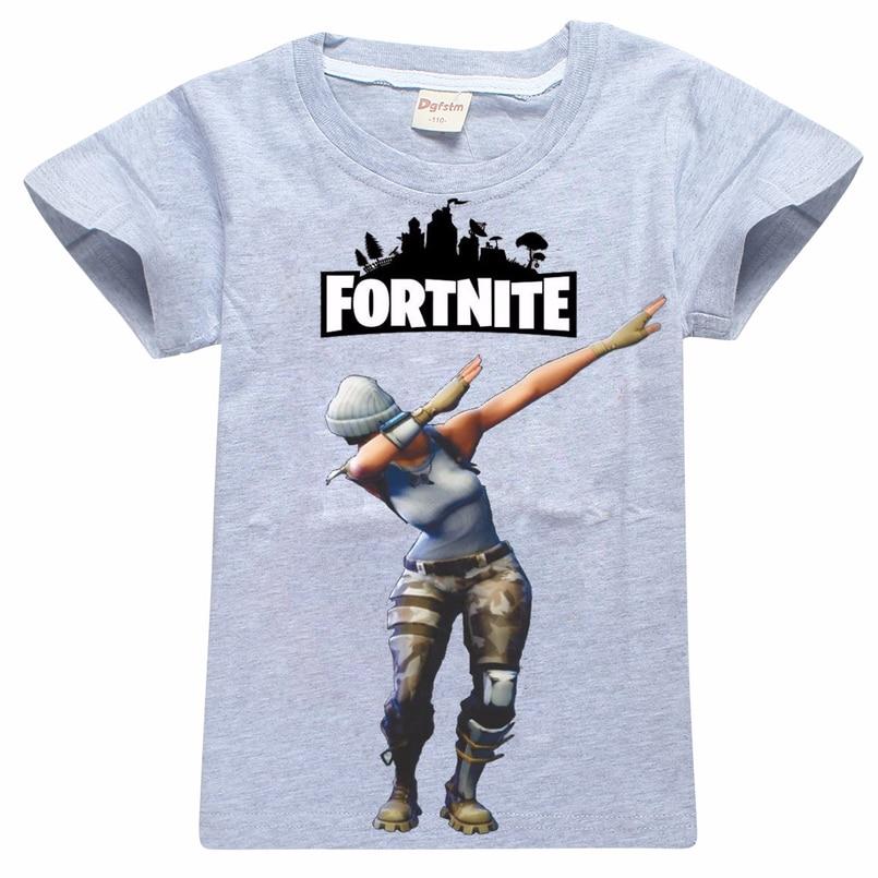 Aliexpress Com Buy Comfortable Summer T Shirts Fortnite Battle