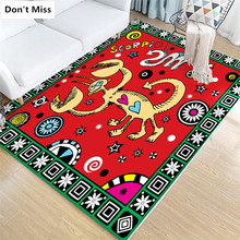 Tapetes Para Sala Lovely Cartoon Animal Soft Rugs Floor Big Mat Anti-slip Kid Room Decor Children Play Mat Carpets Area Rugs(China)