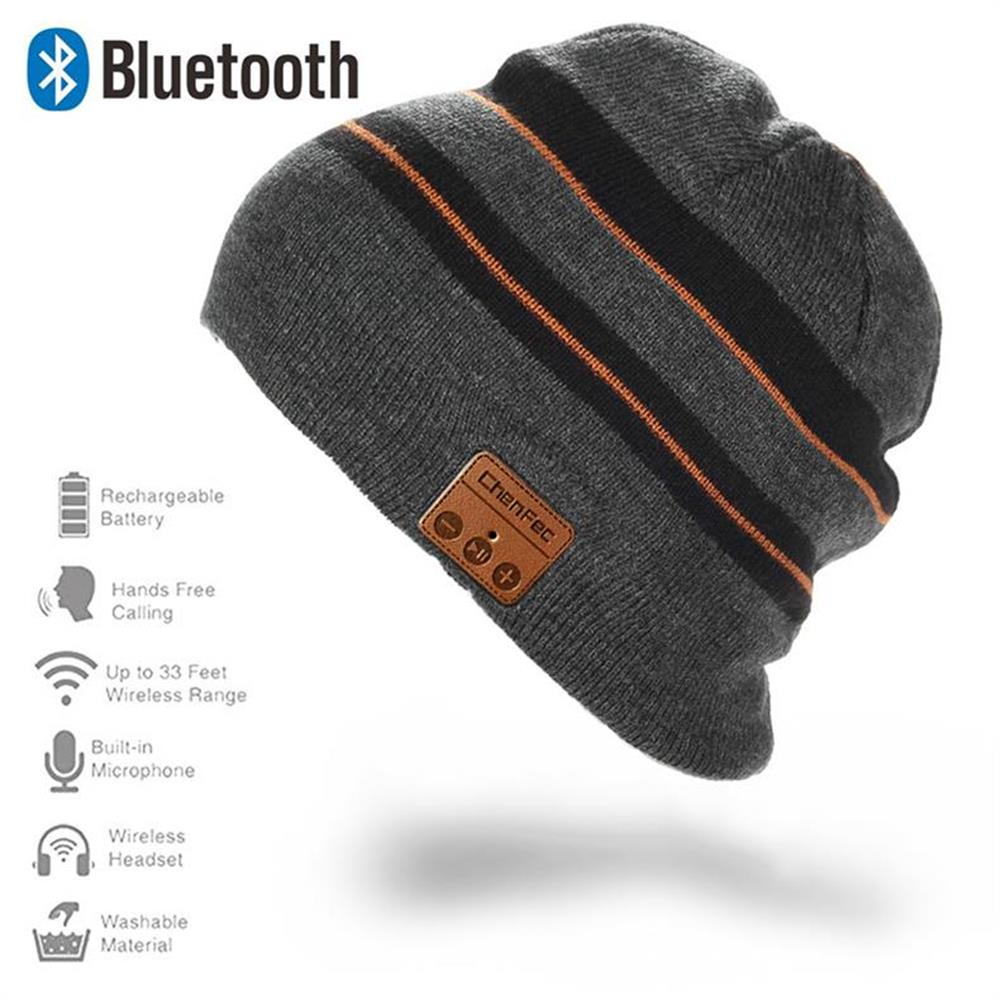 Bluetooth Headphone Music Audio Hat Cap Wireless Headset with Speaker Mic Hands Free for Women Men Boys Girls Christmas gift sport bluetooth music hat cap handsfree headset headphone built in speaker mic