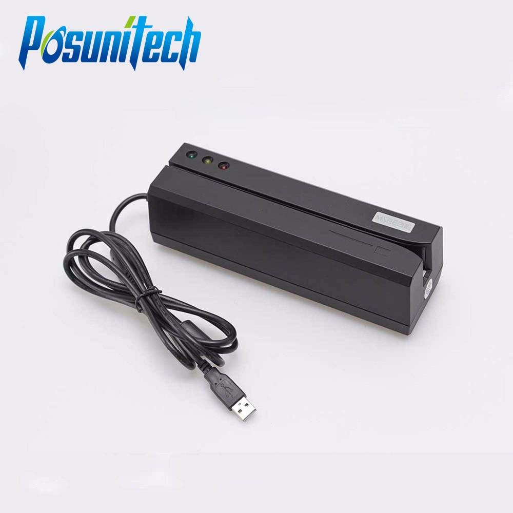 Magnetic Card Reader MSRE206 Magstripe Writer Encoder Swipe USB Interface Black VS 206 605 606 Ship From UK US CN Stock куплю кабель usb для fdv 606