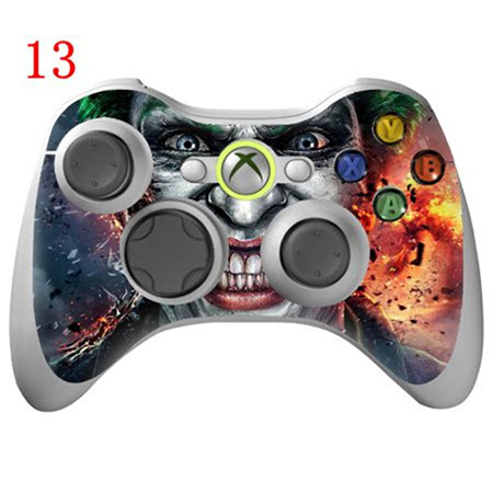 Joker vinyl decal for xbox 360 skin cover for xbox 360 controller