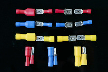 10PCS 5pairs  Female male Insulated Spade joint  Connector Crimp Terminal Connectors Cable Wire Connector