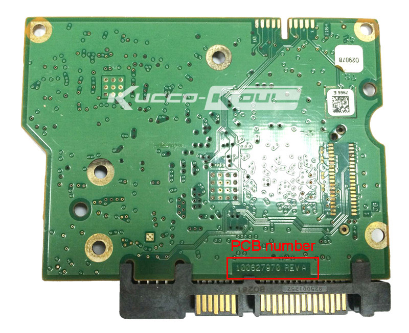 hard drive parts PCB logic board printed circuit board 100627970 for Seagate 3.5 SATA ST1500DM003 <font><b>ST2000DM001</b></font> ST3000DM001 image