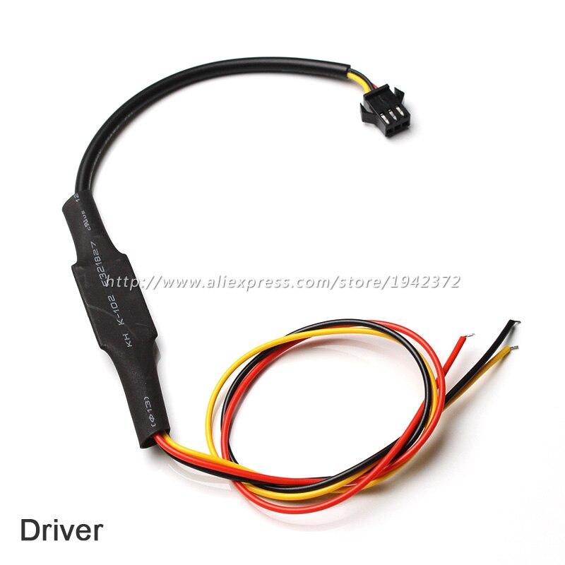 1шт 30см 45см 60см 85см Днем гибкие светодиодные полосы лампы switchback фары Ангел глаз ДРЛ контроллер драйвер индикатора