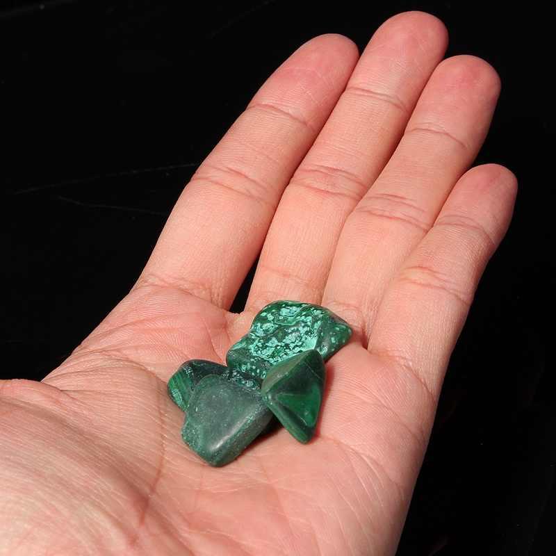 KiWarmร้อนChrysocolla T Umbledหินมรกตรักษาคริสตัลพลอยสำหรับปลาพิพิธภัณฑ์สัตว์น้ำกระถางดอกไม้ตกแต่ง20-30มิลลิเมตร