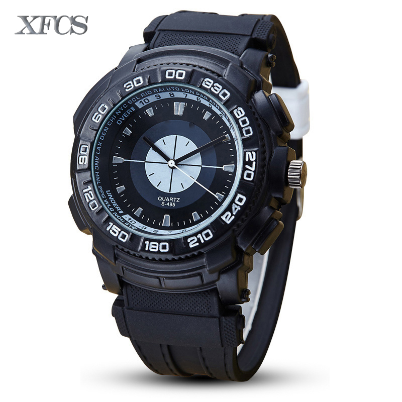 XFCS 2017 waterproof watch for man quartz automatic wristwatch mens famous brand watches topmerk tag original clock colores