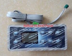 Image 2 - Верхнее покрытие клавиатуры Balboa VL801D, панель с 8 кнопками, работает с системами GS523, VS и GS 500DZ