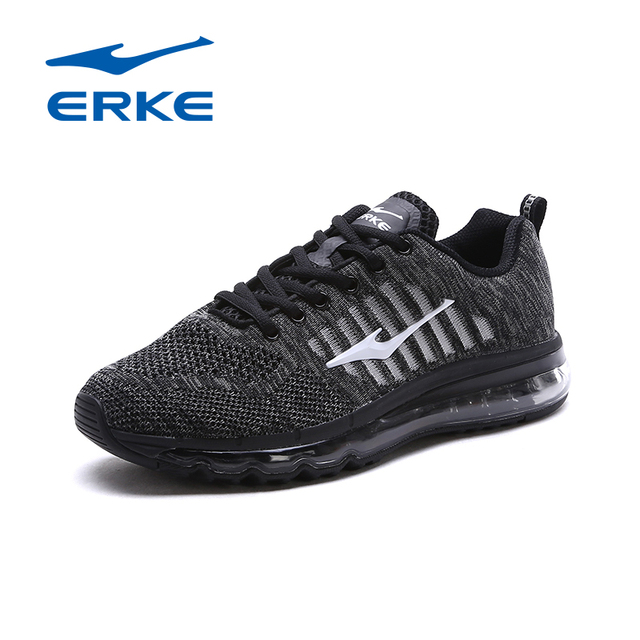 Ерке 2017 Для мужчин Кроссовки воздуха Демпфирование дышащая Flywire Для мужчин новый летний Спортивная обувь Спорт мужской Обувь бег Обувь спортивная для девочек
